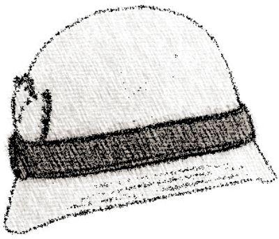Chapéu de Crochê - cloche