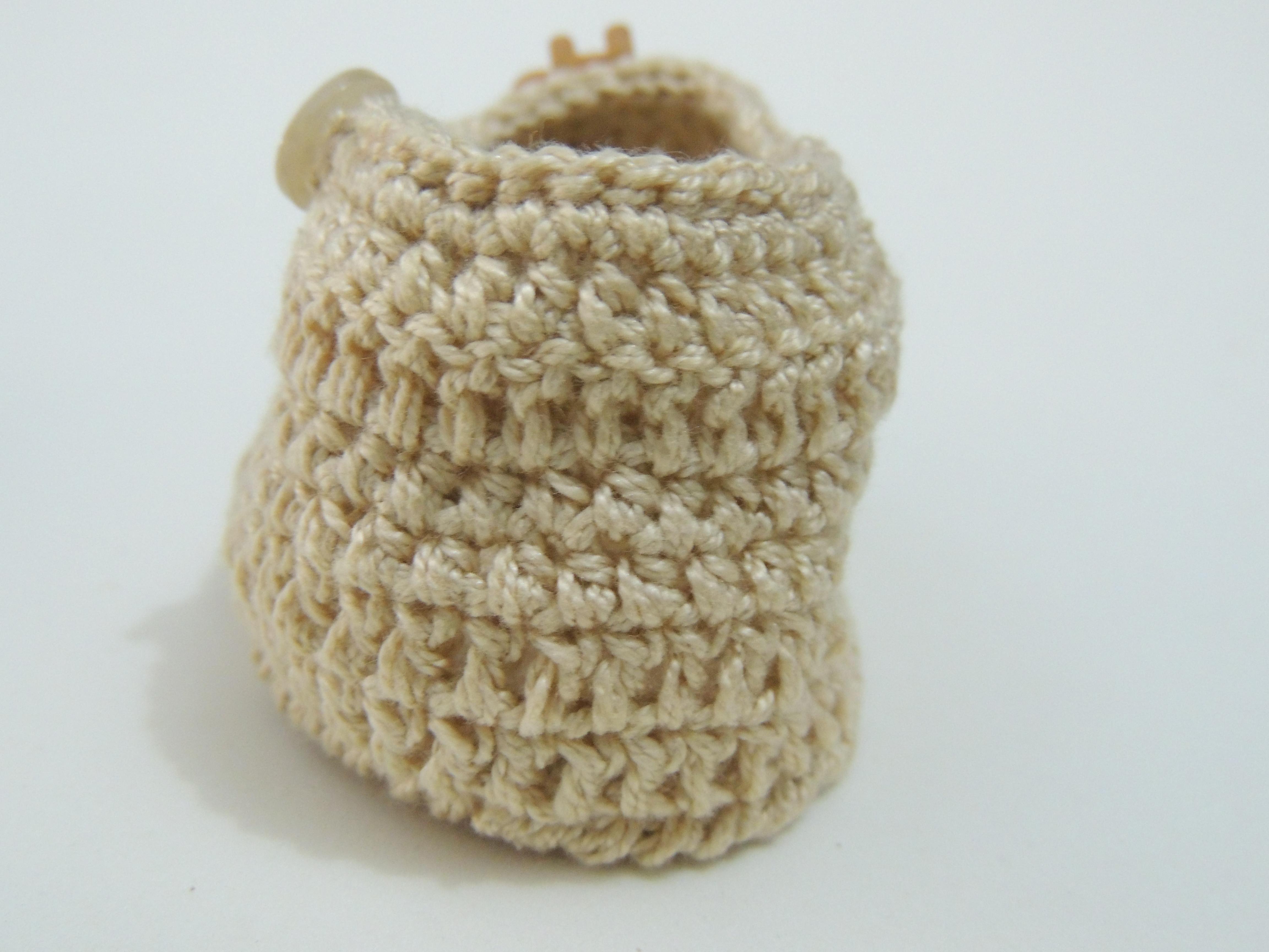 Sapatinho de crochê masculino - Crochê Fácil c3d5cf210e3
