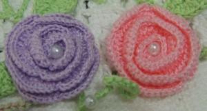 Flor de crochê 1-1