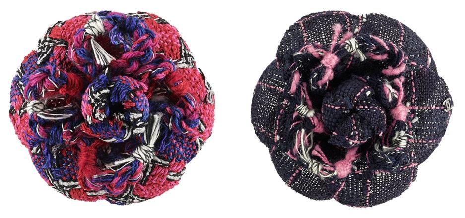 Flor de crochê - Camélias da Channel