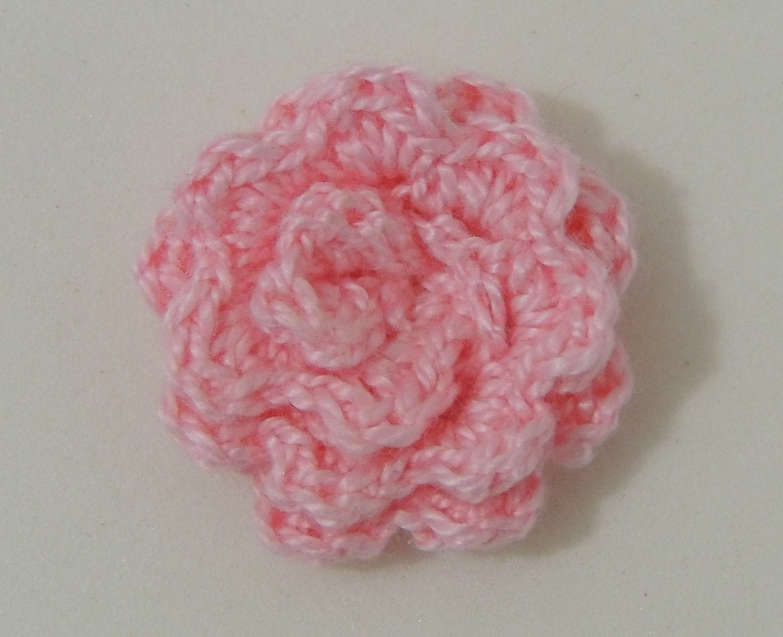Flor de Crochê Básica 3 - 2